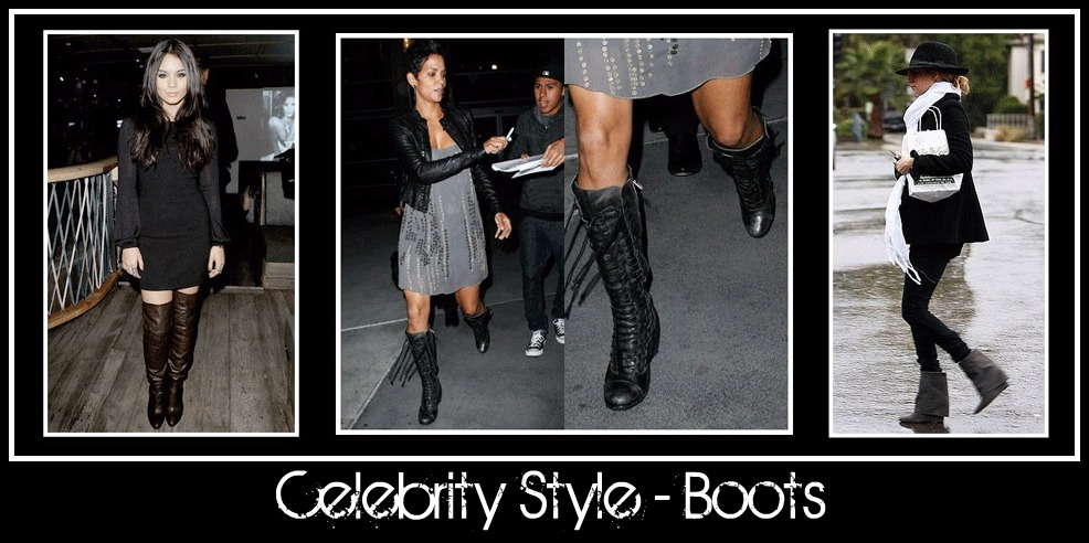 celebrity style  boots