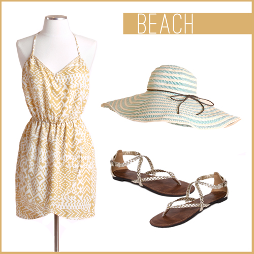 Here we paired our Rum Raisin Ruffle Linen Dress with these adorable