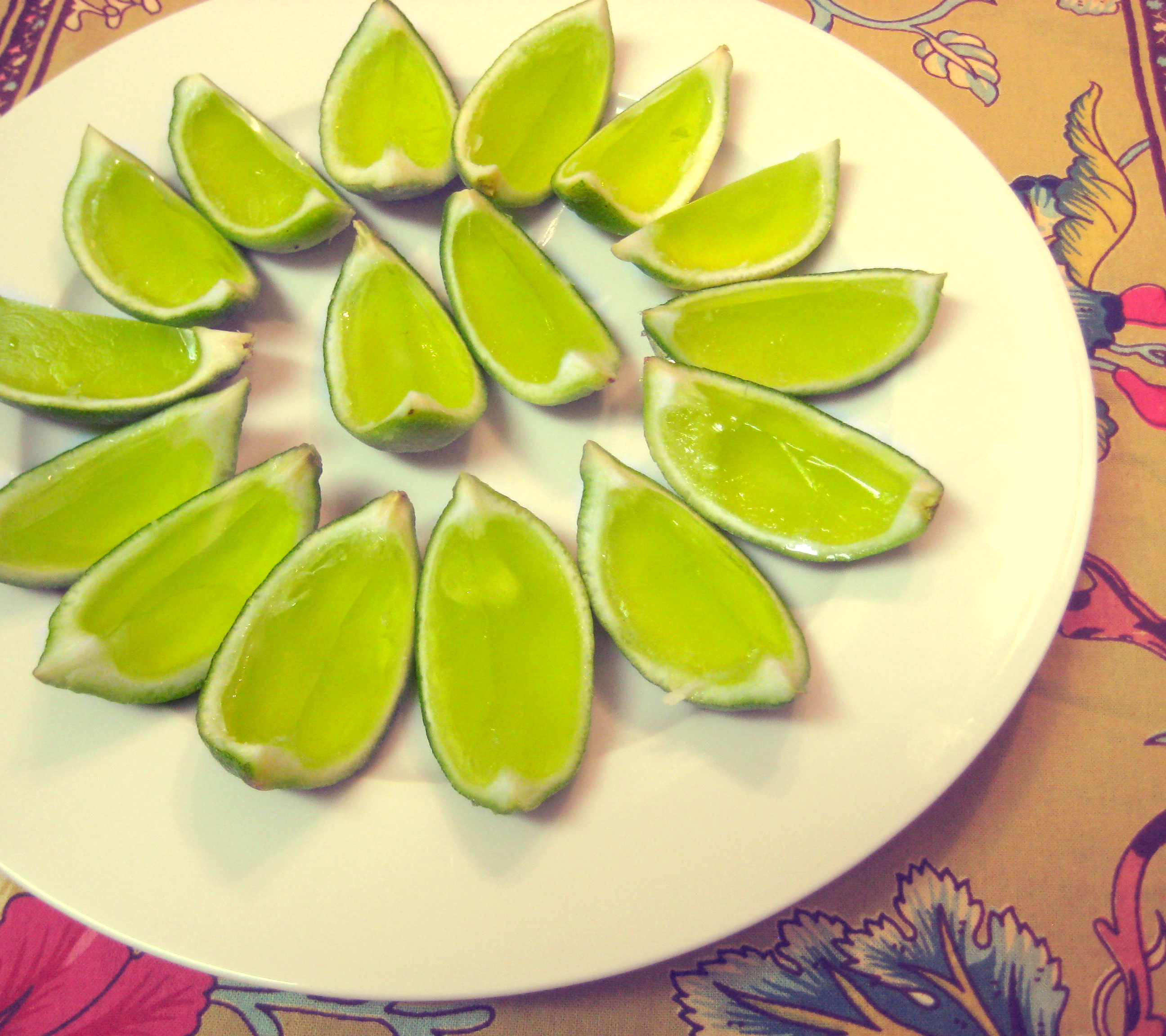 Fruit Jello Shots - Limes