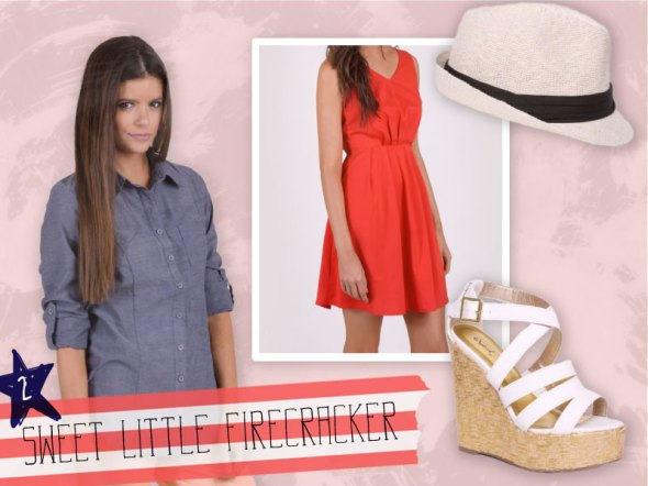 Fully Frocked: Sweet Little Firecracker