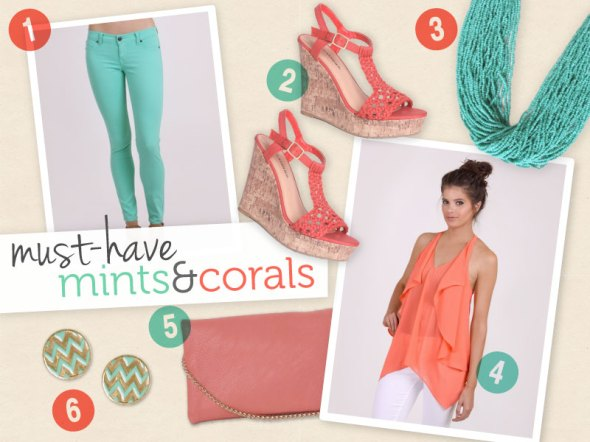 Pinspired: Must-Have Mints and Corals