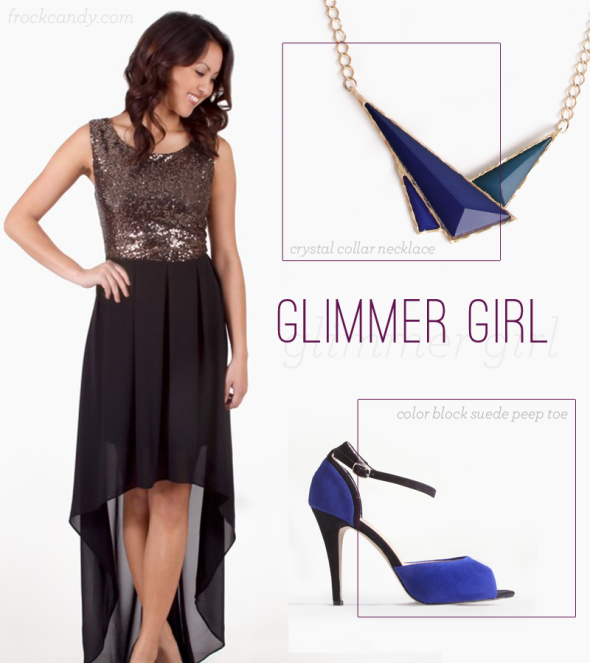 Top New Year's Eve Looks: Glimmer Girl | FrockCandy.com