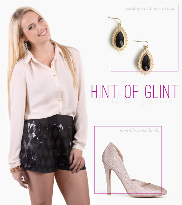 Top New Year's Eve Looks: Hint of Glint | FrockCandy.com