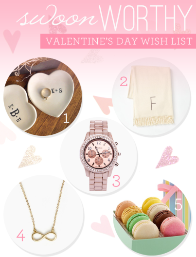 Swoon-Worthy Valentine's Day Wish List | FrockCandy.com #gifts #vday #love